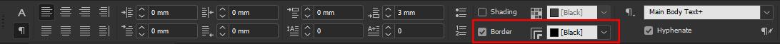 InDesign - Paragraph Control