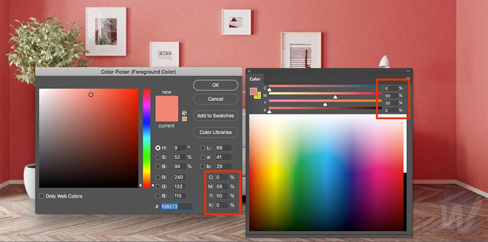 Photoshop Colour Swatch Pantone