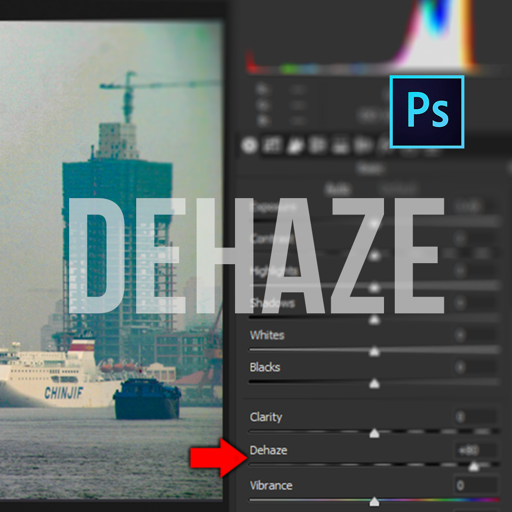 Adobe Photoshop Dehaze