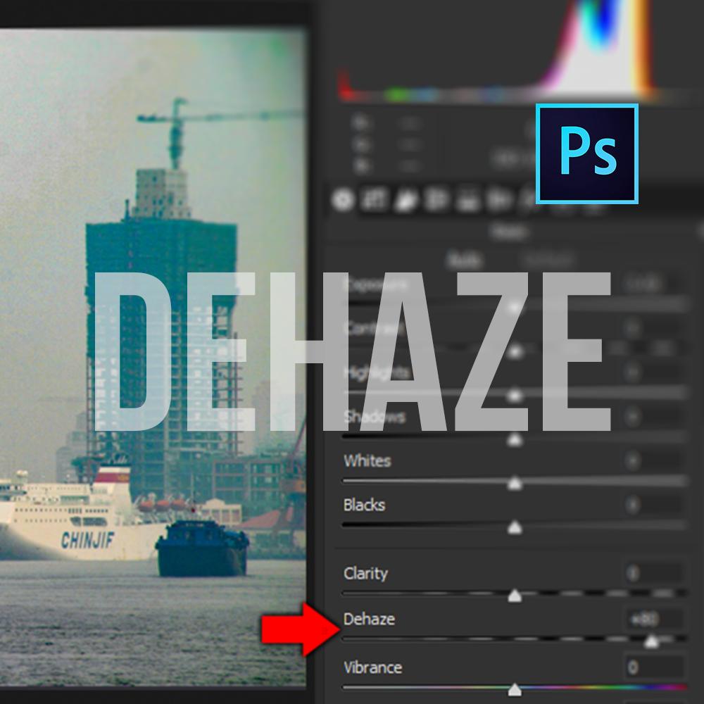 Adobe Photoshop Dehaze