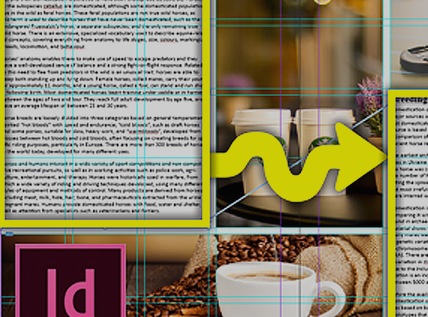 InDesign Threaded Text