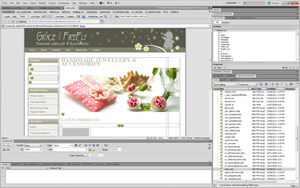 Dreamweaver screenshot