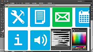 Create icons in Illustrator